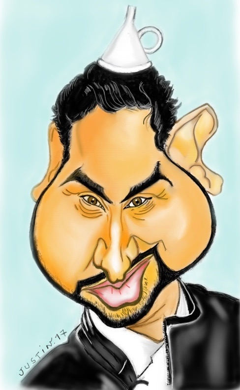 Cyril Hanouna par justin